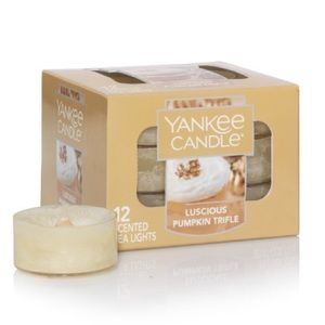 🕯Yankee Candle Tea Light- Luscious Pumpkin Trifle